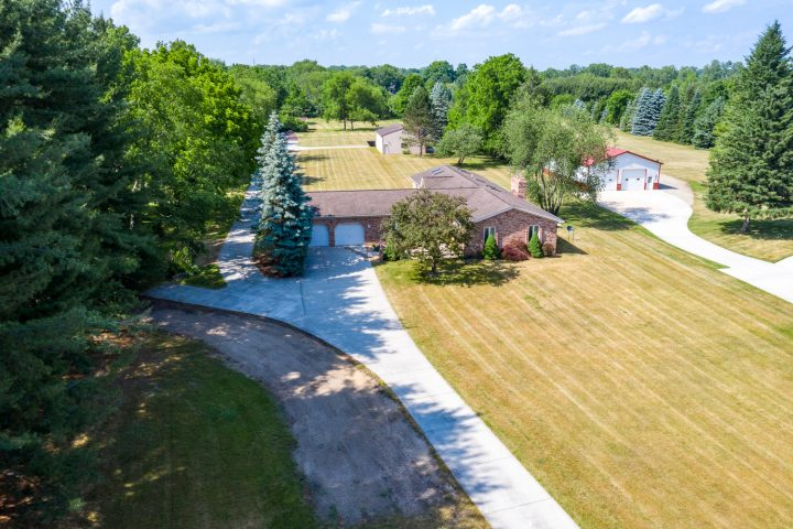 Professional real estate drone photography and video for residential and commercial